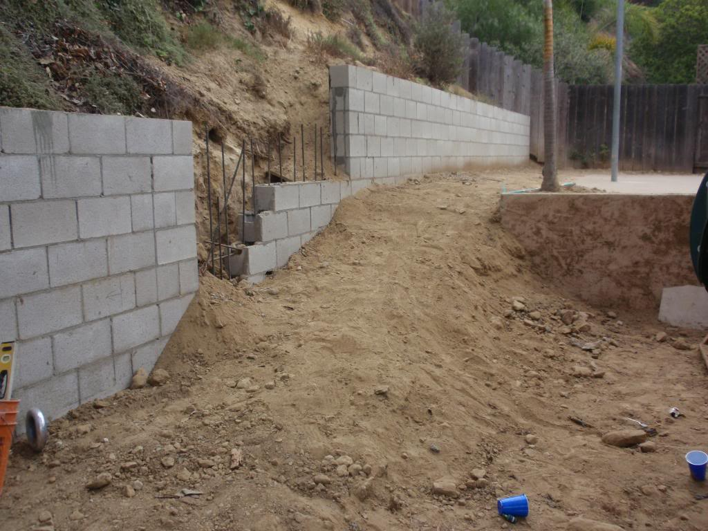 San Diego Paverscape Landscape Construction Retaining Walls